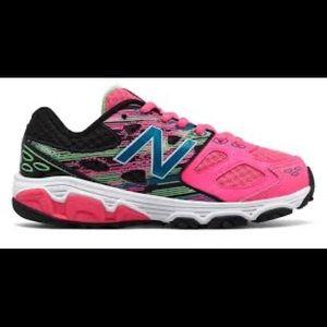 New Balance little girl sneakers